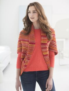 🔥🔥🔥This shrug is one of our hottest new patterns! 🔥🔥🔥 Free Crochet Pattern L50134 #Love Shrug : Lion Brand Yarn Company