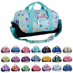 Personalized Wildkin Duffel Bag by - perfect travel bag including monogrammed name or monogram / Personalized Duffle Bags / Monogrammed Duffle Bags / Personalized Duffle Bag / Monogrammed Duffle Bag / Womens Duffle Bags / Cute Duffle Bags / Kids Duffle Bags / Kids Travel Bags / Kids Duffle Bag / Kids Travel Bag / Duffle Bag