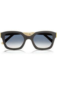 Marni Square-frame acetate sunglasses | NET-A-PORTER