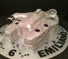 Falcon Cake