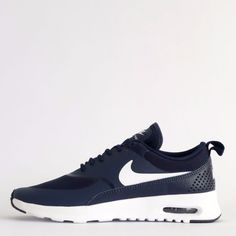 Nike Air Max Thea Womens Classic Casual Trainers Shoes Sneakers Obsidian/White…