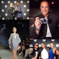 """2,611 Likes, 11 Comments - Nigel Barker (@nigelbarker) on Instagram: """"Had an incredible time test driving @Moto_USA's True Zoom Mod from the front row of @VivienneTam's…"""""""