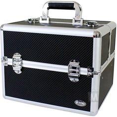 Maleta Jacki Design BHJ14125 Pró-Maquiagem Aluminio
