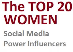 Which women social media experts have the strongest, most active followings? In that sense which are the real power influencers? Last year I researched that question and, with the help of Peek Analytics, produced a top 50 and a top 20 list. This year we've done the same.