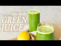 Green Juice 3-Ways | #CleanAndGreenWithDani - YouTube