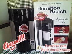 Chegou mais um mimo para a minha cozinha:Personal Cup ,a cafeteira individual da Hamilton Beach !!