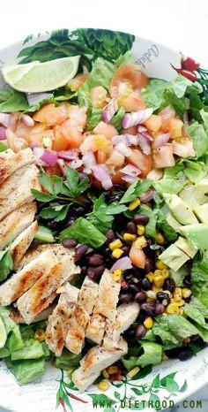 Tex Mex Margarita Chicken Salad
