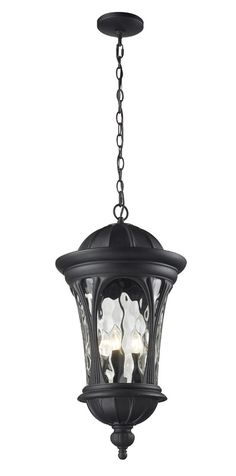 Z-Lite 543chb-bk Doma Collection Outdoor Chain Light