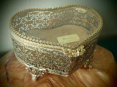 Matson Jewelry Box 24 Karat Gold Plated by FeistyFarmersWife, $69.00