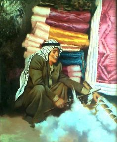Iraqi art النداف EL PANBOUKATIDJY Arabian Art, Painter Artist, Adventure Time Art, Baghdad, Love Drawings, Art Fair, Portrait Art, Oeuvre D'art, Art Pictures