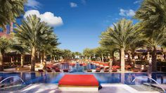 Outdoor Lounging Pool at The Cove at The Atlantis Bahamas Paradise Island http://www.bahamasfinder.com/hotels/the-cove-atlantis.html