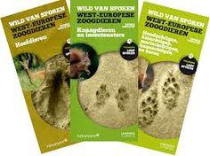 Wild van sporen: West-Europese zoogdieren / Dieter Vercayie Tielt, lannoo, 2013