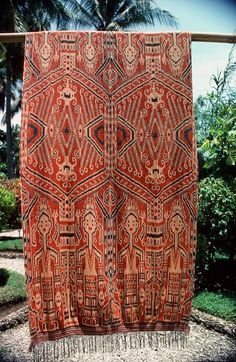 Ikat from East Sumba, Sumba, Indonesia