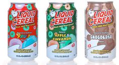 Canned liquid CEREAL. | 19 Foods That Are Probably Sad That They Exist