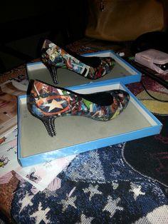 Caption America shoes