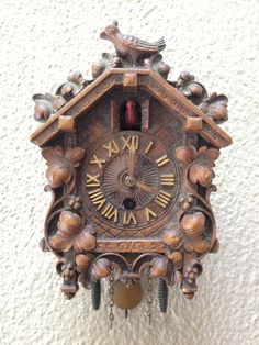 Vintage Cuckoo Clock by PipeAndPenny on Etsy, $25.00