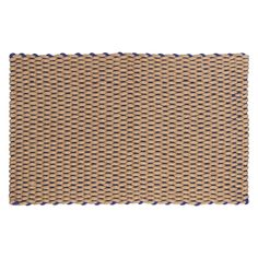 PORTE Blue door mat | Buy now at Habitat UK