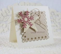 Handmade Holiday - Christmas Greeting Card very clever and creative!