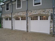 Drive through garage for the home pinterest car for Drive through garage door