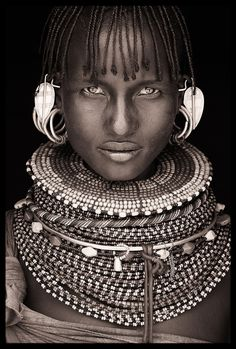 Mumuhuila tribe of Angola. Beautiful