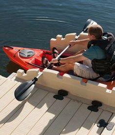 EZ_Kayak Launch Sample of prices: http://www.marinedocklift.com/StateFairFlyer.htm #kayaktips