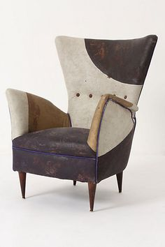 Serbian artist Draga Obradovic's one-of-a-kind chairs at her studio in Como, Italy.