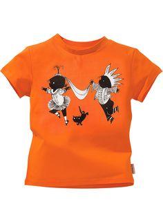 HEMA in het oranje - kinder t-shirt 'Jip & Janneke'