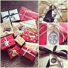 Christmas Gift Wrapping #christmas #gift #wrapping
