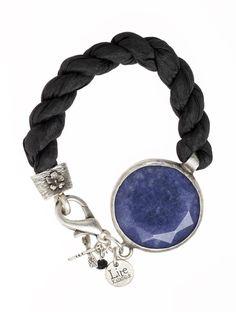 Beautiful bracelets from 'Lite Kalabalik' » Lite Midnight Silver