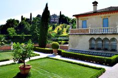 The 16th century Armenian Villa in Asolo, Italy