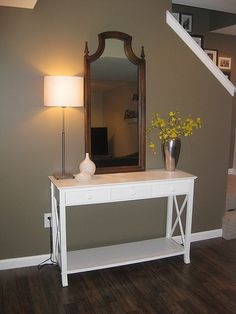 "Pottery Barn Benjamin Moore color ""Texas Leather"""