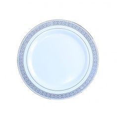 China-Like Gold Star Trim 7.5'' Plates - 10 Per Package