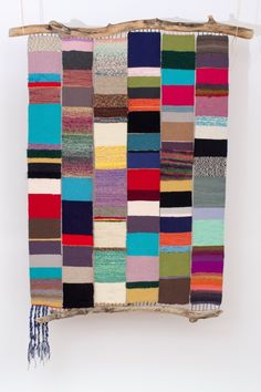 Colorful wall hanging.