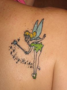 Tinkerbell! I would just get the wand and fairy dust