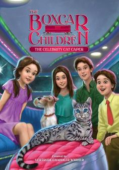 The Boxcar Children Book 143: The Celebrity Cat Caper created by Gertrude Chandler Warner