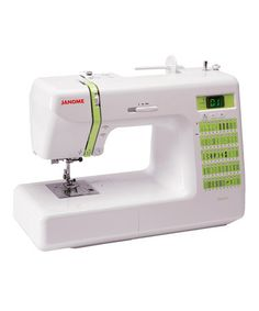 Take a look at this Computerized DC2012 Sewing Machine Set by Janome on #zulily today! $429 !!