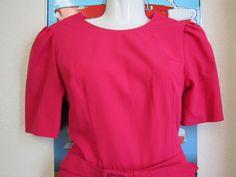 Beautiful 50s 1950s Vintage Dress Full Skirt Hot by SissysVintage, $45.00