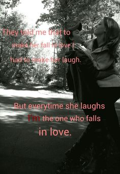 Cute couple quote & picture.