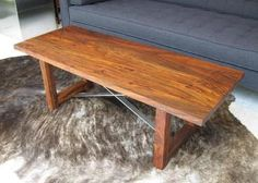 "Roost Thorson Coffee Table. $995. 48""L x 18""W x 16""H."