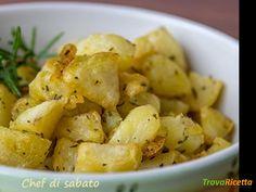 Patate al forno al rosmarino  #ricette #food #recipes