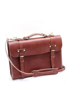 d1450a0825 To Pack In My Bag Hand-Stitched Leather Briefcase by W Durable Goods on  Scoutmob Shoppe