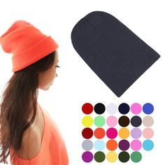 Cheap hat ring, Buy Quality hat ladies directly from China hat skull Suppliers: Winter Warm Unsex Knitting Women Men Wool Fluorescence Color Sport Outdoors Tabby Solid Elastic Beanie Hedging Hat