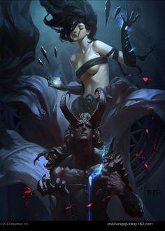ArtStation - Demon's Love, Bayard Wu