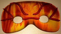 Fused Glass Masquerade Mask. Artist Roy Myers