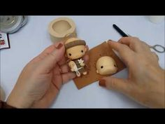 Clay Baby, Pasta Flexible, Clay Tutorials, Cold Porcelain, Fondant, Biscuits, Polymer Clay, Dolls, Christmas Ornaments