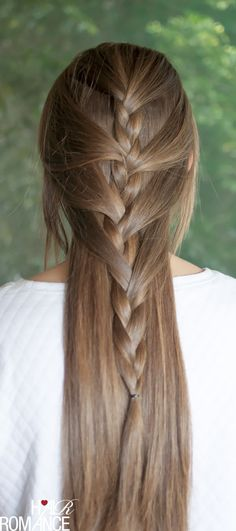 Swept away - try this sweeping half French braid tutorial
