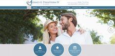 #sesamewebdesign #psds #dental #responsive #blue #gray #topnav #top-nav #fullwidth #full-width #circles #texture #sticky