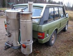 Woodgas Range Rover!