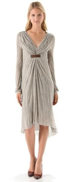 Vestido império cinza - http://vestidododia.com.br/modelos-de-vestido/vestidos-imperio/vestidos-imperio/