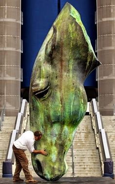 Nic Fiddian-Green - Esculturas Ecuestres de Gran Tamaño | El Encanto Oculto De La Vida